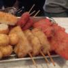 名鉄本星崎駅近くの大阪風串カツが美味しい「エビスヤ食堂」