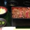 梅田で行列必至 本みやけのステーキ重