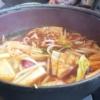 暑い日に辛いものを食らう「和食さと 海鮮豆腐チゲ鍋」