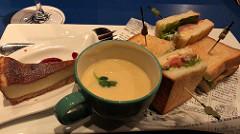 名古屋ブルーノートで西川悟平氏の演奏を聴きながらディナー