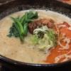 中国厨房 YUANで担々麺セットと特製唐揚げ