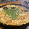 丹波篠山のぼたん鍋専門店「ぼたん亭」のデカンショうどんで舌鼓